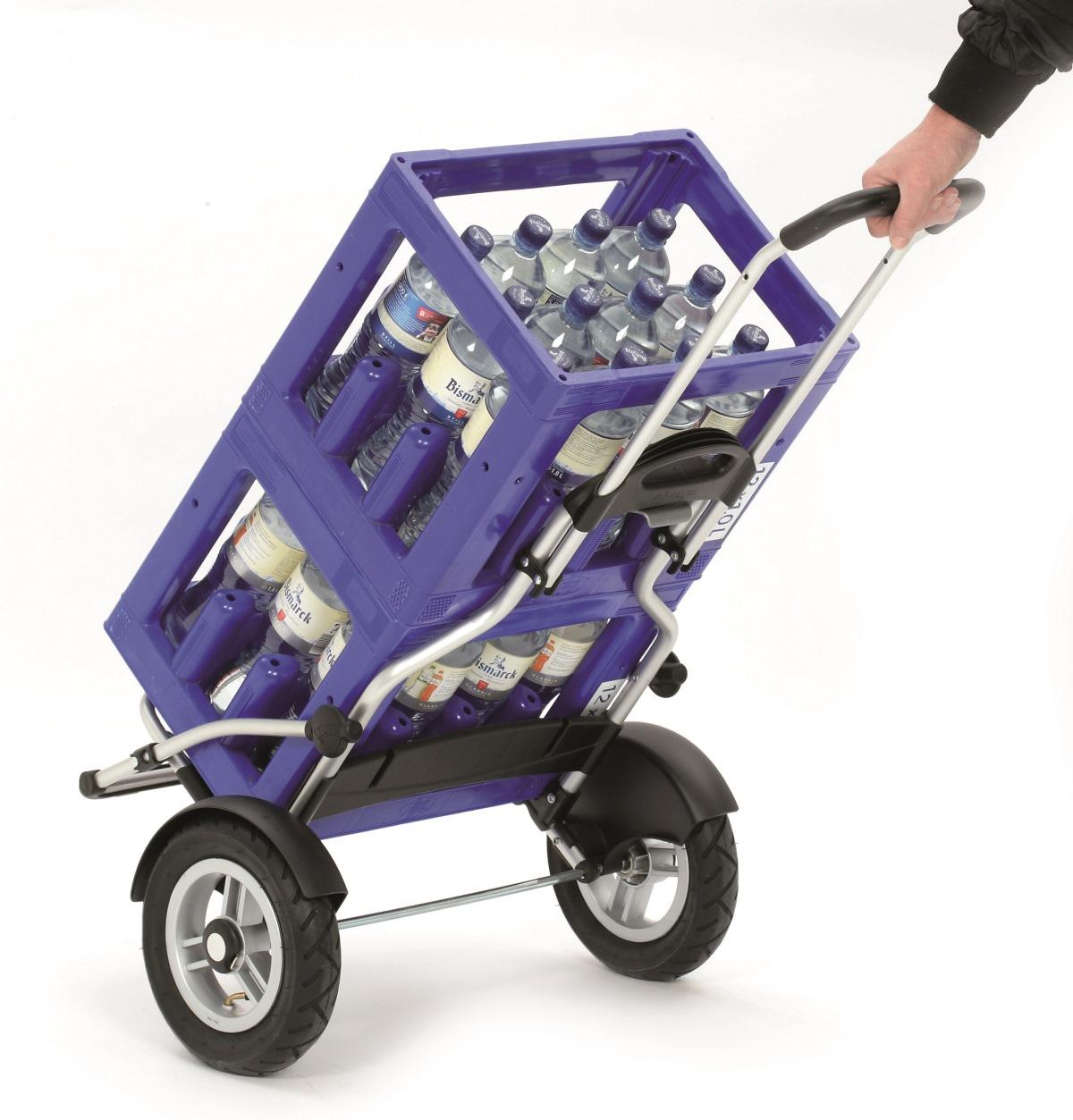andersen royal shopper plus gestell aus alu fahrrad anh nger einkaufs trolley. Black Bedroom Furniture Sets. Home Design Ideas